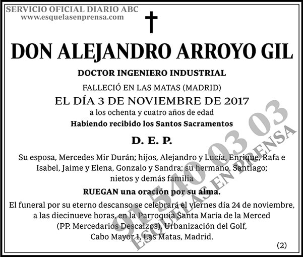 Alejandro Arroyo Gil